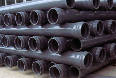 PVC-M pipes for water supply modified poly vinyl chloride