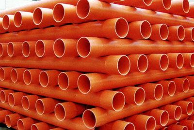 CPVC Pipes for High Tension Cable Protection Pipes /Plastics Pipes for Underground Correspondence